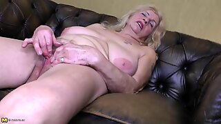 aged granny with big saggy tits and thirsty poon